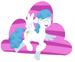 Size: 743x618 | Tagged: safe, artist:steeve, character:lightning bolt, character:white lightning, species:pegasus, species:pony, g4, adobe imageready, female, flying, happy, mare, simple background, solo, spread wings, transparent background, wings