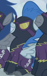 Size: 418x669 | Tagged: safe, screencap, character:nightshade, species:pegasus, species:pony, episode:friendship is magic, g4, my little pony: friendship is magic, cropped, shadowbolts, solo focus
