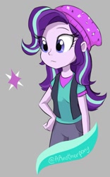 Size: 981x1573 | Tagged: safe, artist:aanotherpony, character:starlight glimmer, species:eqg human, g4, solo