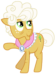 Size: 7000x9200 | Tagged: safe, artist:tardifice, character:goldie delicious, species:earth pony, species:pony, episode:pinkie apple pie, g4, my little pony: friendship is magic, absurd resolution, female, mare, simple background, smiling, solo, transparent background, vector