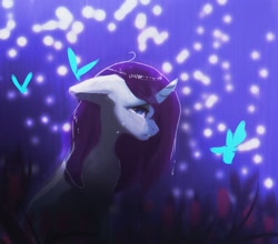 Size: 1828x1606 | Tagged: safe, artist:hierozaki, character:rarity, species:pony, species:unicorn, g4, crying, female, solo