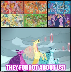 Size: 1134x1152 | Tagged: safe, edit, edited screencap, screencap, character:adagio dazzle, character:aloe, character:angel bunny, character:apple bloom, character:apple rose, character:applejack, character:aria blaze, character:auntie applesauce, character:autumn blaze, character:babs seed, character:berry punch, character:berryshine, character:big mcintosh, character:bon bon, character:bow hothoof, character:braeburn, character:bright mac, character:burnt oak, character:capper dapperpaws, character:carrot cake, character:cattail, character:cheerilee, character:cheese sandwich, character:cherry jubilee, character:clear sky, character:cloudy quartz, character:coco pommel, character:coloratura, character:cranky doodle donkey, character:cup cake, character:daring do, character:derpy hooves, character:diamond tiara, character:discord, character:dj pon-3, character:doctor fauna, character:doctor muffin top, character:double diamond, character:fancypants, character:featherweight, character:flam, character:flash magnus, character:flash sentry, character:flim, character:fluttershy, character:gabby, character:garble, character:gentle breeze, character:gilda, character:goldie delicious, character:grand pear, character:granny smith, character:gummy, character:hoity toity, character:igneous rock pie, character:iron will, character:limestone pie, character:little strongheart, character:lotus blossom, character:lyra heartstrings, character:marble pie, character:matilda, character:maud pie, character:mayor mare, character:meadowbrook, character:mistmane, character:moondancer, character:mudbriar, character:night glider, character:night light, character:nurse redheart, character:ocellus, character:octavia melody, character:opalescence, character:owlowiscious, character:pear butter, character:pharynx, character:photo finish, character:pinkie pie, character:pipsqueak, character:posey shy, character:pound cake, character:prince pharynx, character:prince rutherford, character:princess 