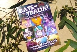 Size: 794x537 | Tagged: safe, artist:partylikeanartist, species:pony, australia, australian, collaboration, fan-zine, photo