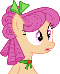 Size: 3001x3732 | Tagged: safe, artist:cloudyglow, character:apple rose, species:earth pony, species:pony, episode:apple family reunion, g4, my little pony: friendship is magic, .ai available, female, mare, open mouth, simple background, solo, transparent background, vector, young