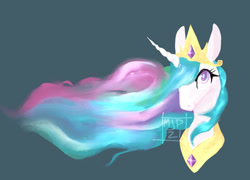 Size: 1280x920   Tagged: safe, artist:guacbird, character:princess celestia, g4, i drew this myself, painting