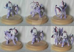 Size: 1600x1124   Tagged: safe, artist:eyesorefortheblind, oc, oc:mystic mysteries, species:alicorn, species:pony, g4, craft, customization, figure, photo, solo, toy