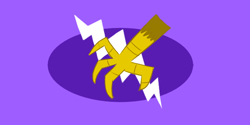 Size: 800x400   Tagged: safe, artist:horsesplease, character:gilda, episode:equestria games, g4, my little pony: friendship is magic, flag, griffonstone, no pony, wallpaper