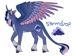 Size: 1280x960 | Tagged: safe, artist:literal-forest-fire, oc, oc:princess stormdrop, parent:fluttershy, parent:rainbow dash, parent:twilight sparkle, species:alicorn, species:pony, multiple parents, next generation, offspring, parents:twishydash, solo