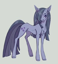 Size: 1280x1394 | Tagged: safe, artist:lambi-belle, character:marble pie, species:earth pony, species:pony, g4, female, solo