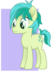 Size: 428x600 | Tagged: safe, artist:temp, character:sandbar, species:earth pony, species:pony, g4, male, solo, stallion