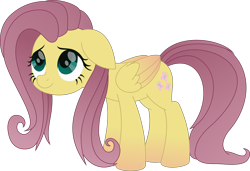 Size: 3574x2444 | Tagged: source needed, safe, artist:temp, character:fluttershy, species:pegasus, species:pony, alternate design, movie accurate, solo