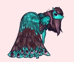 Size: 1465x1216 | Tagged: safe, artist:temp, oc, oc:mayura, species:pegasus, species:pony, female, mare, solo