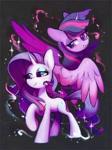 Size: 893x1200   Tagged: safe, artist:dawnf1re, character:rarity, character:twilight sparkle, character:twilight sparkle (alicorn), species:alicorn, species:pony, species:unicorn, g4