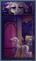 Size: 720x1200   Tagged: safe, artist:sheol, species:earth pony, species:pony, comic:royal pains, comic, solo, town hall